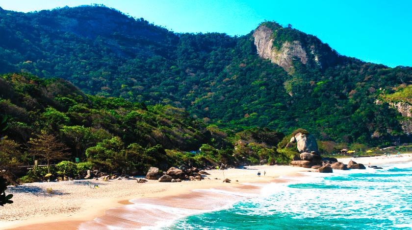 Praia de Grumari, no Rio de Janeiro