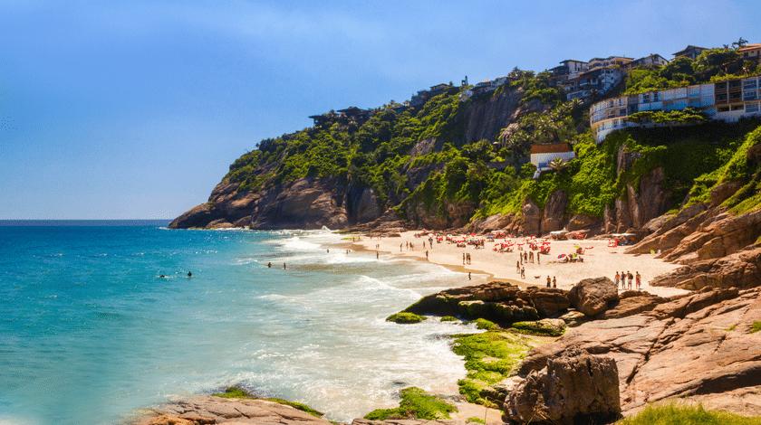 Praia de Joatinga, no Rio de Janeiro