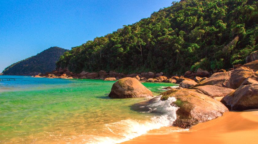Praia do Sono, em Paraty