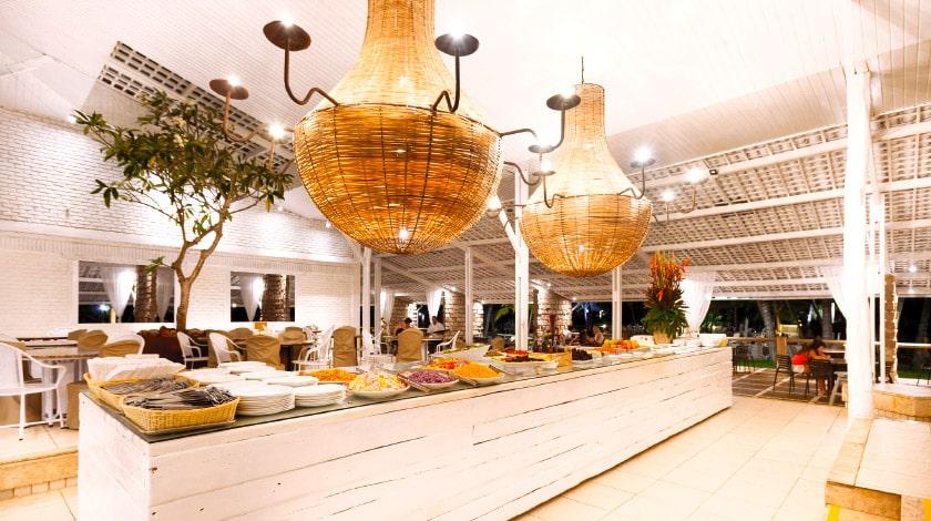 Buffet do Restaurante Canavial