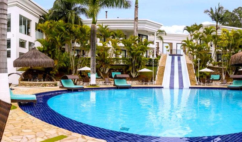 Piscina do Vale Suíço Resort, entre as ofertas da Pré-Black