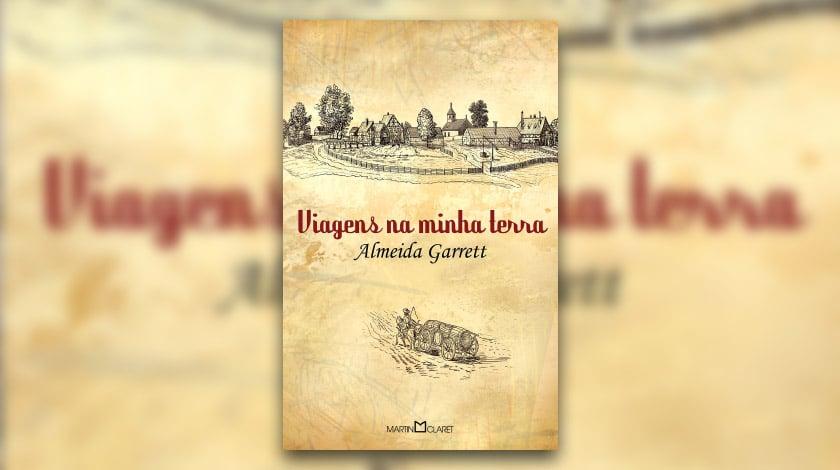 Capa do livro 'Viagens na Minha Terra', de Almeida Garrett