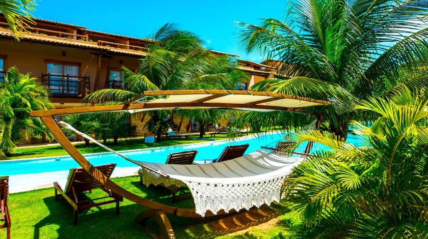 Foto da área de lazer do Praia Bonita Resort & Convention