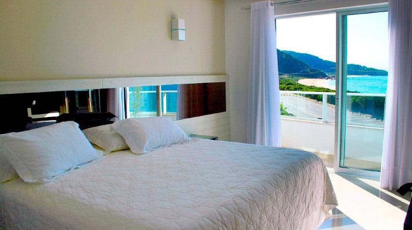 Acomodação no Reserva Praia Hotel
