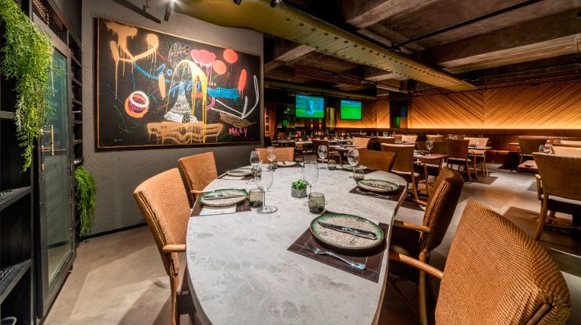 Restaurante Le Sururu, no Ritz Lagoa da Anta