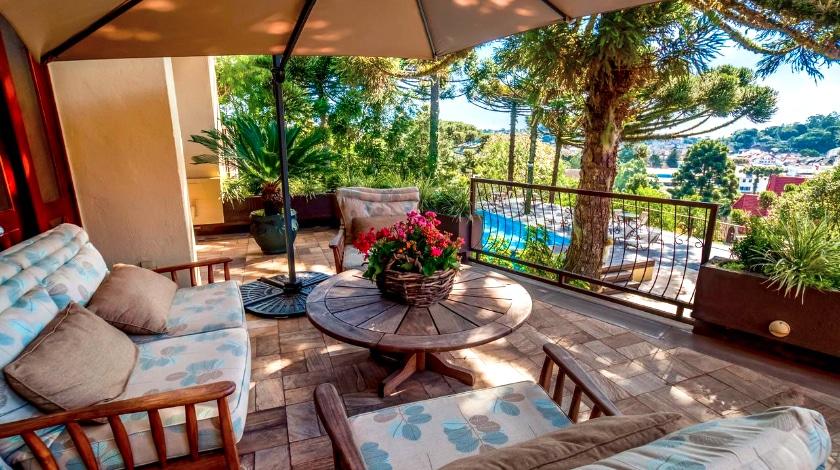 Varanda do Wish Serrano Resort