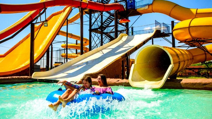 Parque aquático do Barretos Country Resort