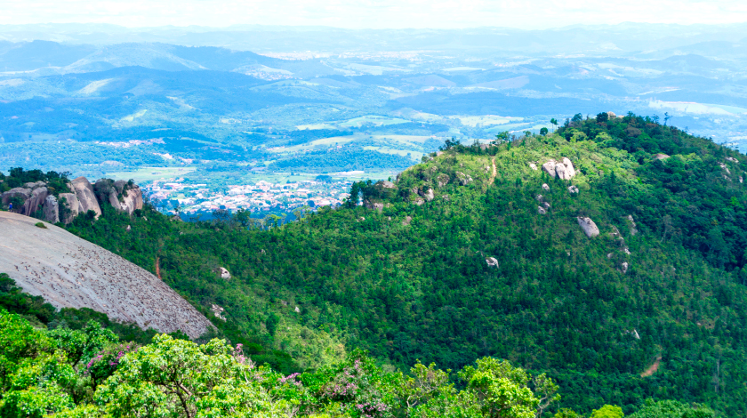Pedra Grande, em Atibaia, cidade no interior de SP