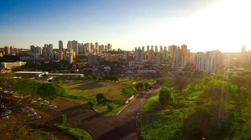 Vista geral de Ribeirão Preto