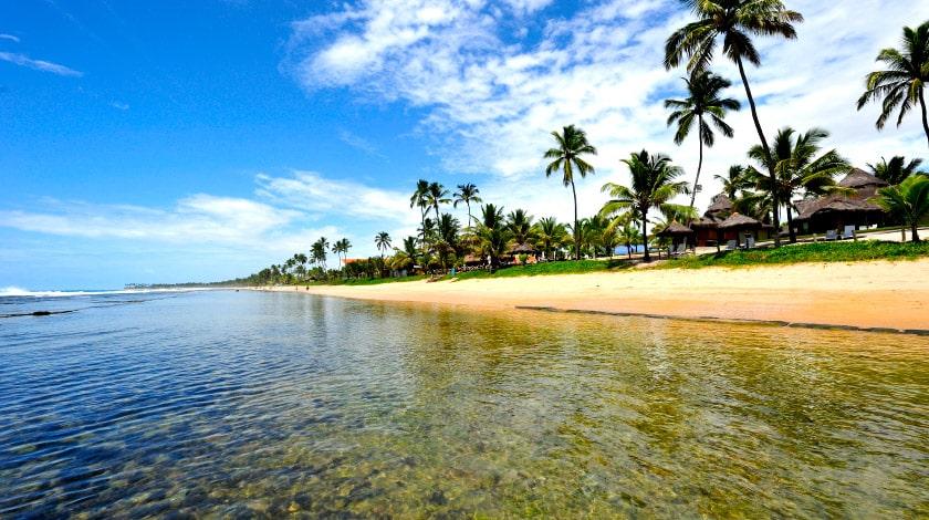 Mar da Praia de Serrambi