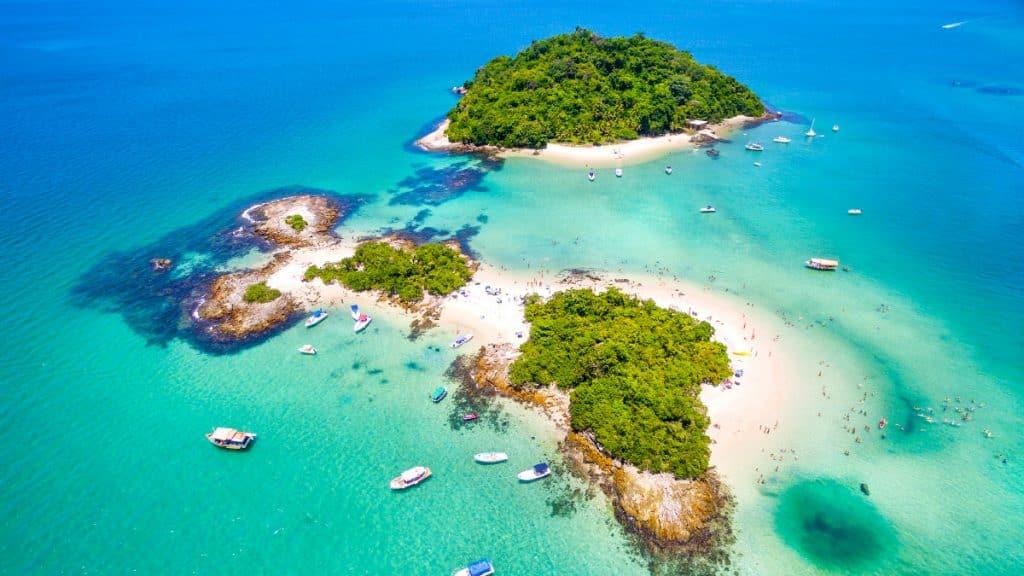 As belezas naturais de Angra dos Reis, Rio de Janeiro