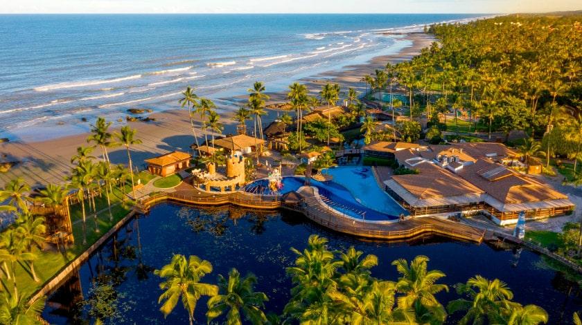 Vista aérea do Cana Brava Resort, oferta da Black Week