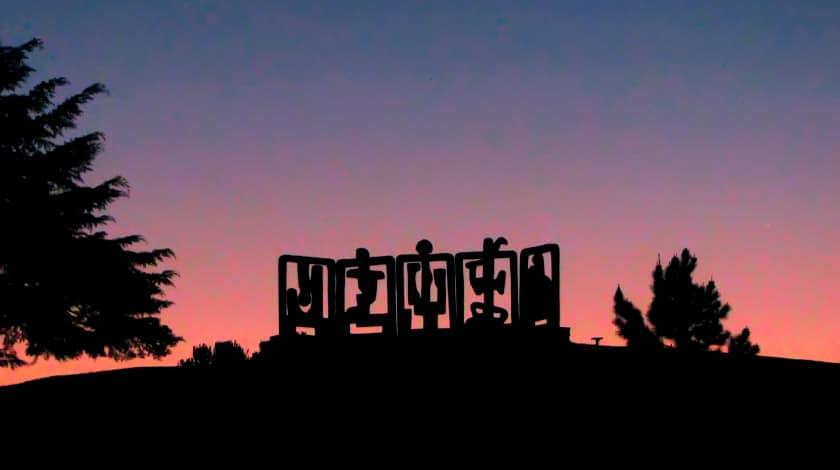 Vista pôr do sol do Museu Felícia Leirner - o que fazer em Campos do Jordão