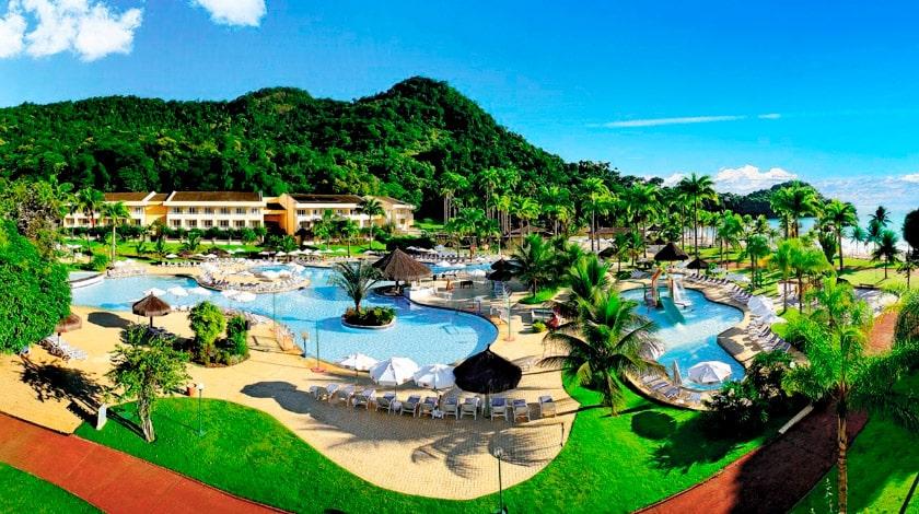 Vista geral do Vila Galé Eco Resort de Angra