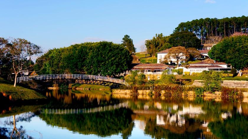 Vista geral da Fazenda Dona Carolina - hotéis fazenda em SP