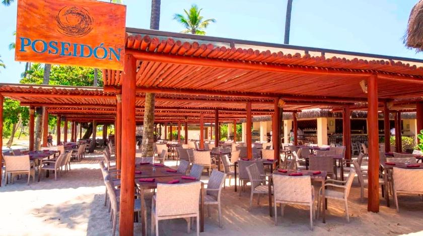 Área externa do Restaurante Poseidon