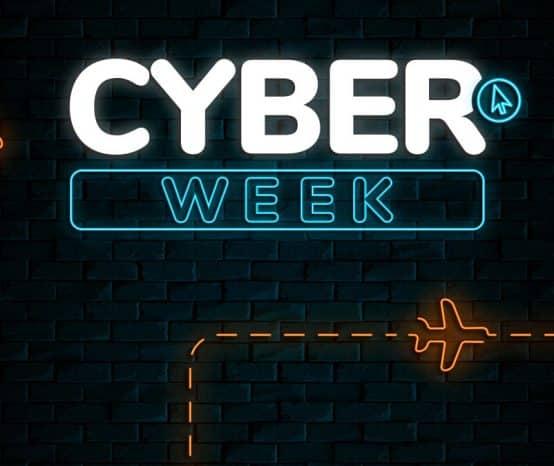 Cyber Week com até 45% OFF! Últimos dias com descontos de Black Friday