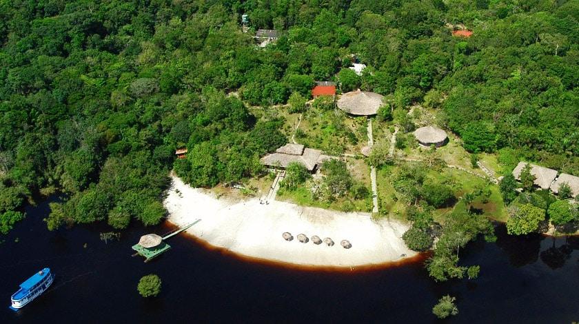 Vista geral do Amazon Ecopark Jungle