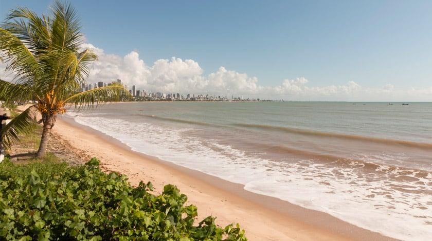 Praia em João Pessoa - PB
