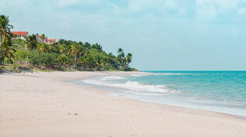 Praia em Conde, na Paraíba
