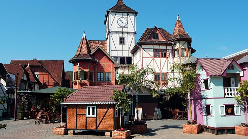Vila Germânica, em Blumenau
