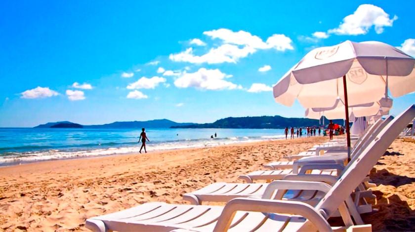 Praia de Jurerê Internacional, em Santa Catarina