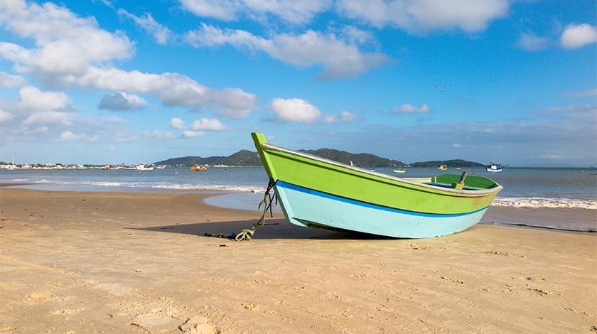 Praia dos Zimbros, em Santa Catarina