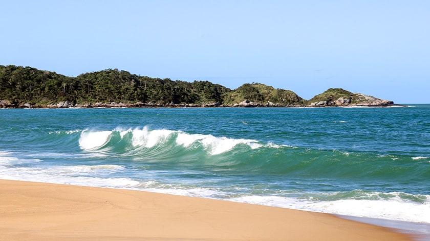 Praia do Estaleiro, em Santa Catarina
