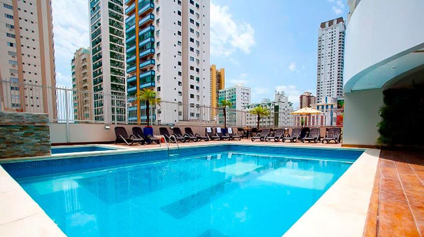 Piscina do Hotel Sibara Flat, Balneário Camboriú