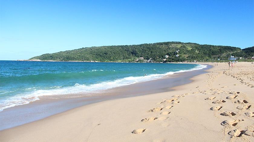 Praia de Taquaras, em Santa Catarina