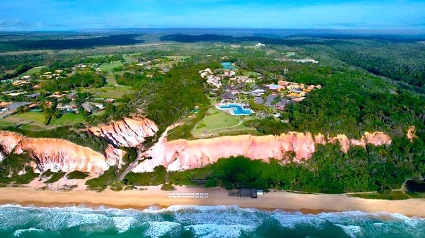 Vista aérea do Club Med Trancoso
