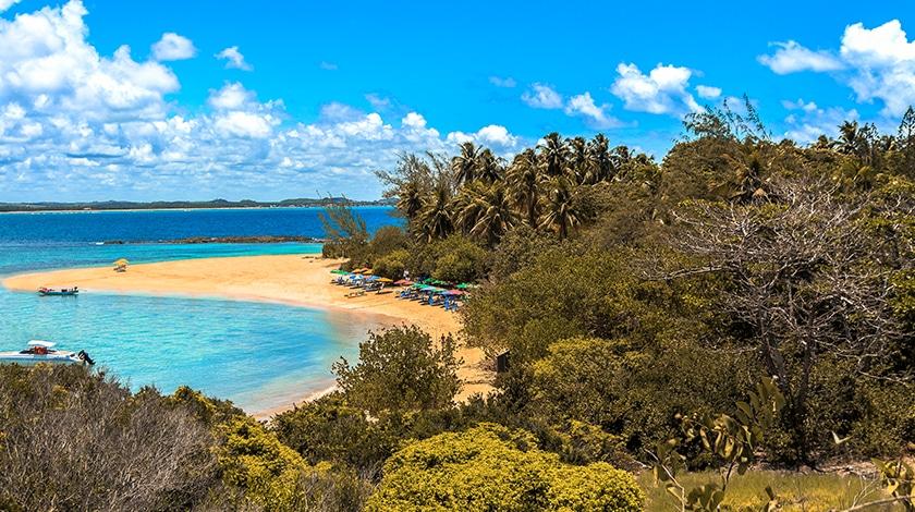 Praia da Ilha de Santo Aleixo, em Tamandaré