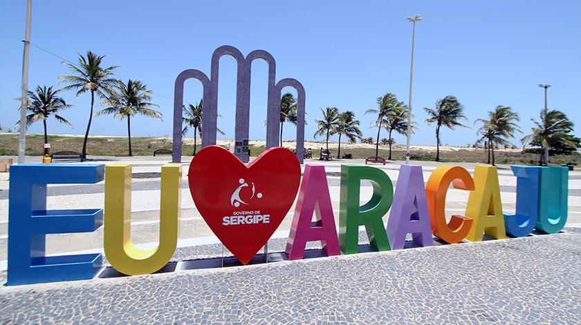 Orla de Atalaia, em Aracaju