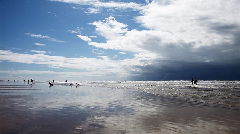 Praia de Atalaia, em Aracaju