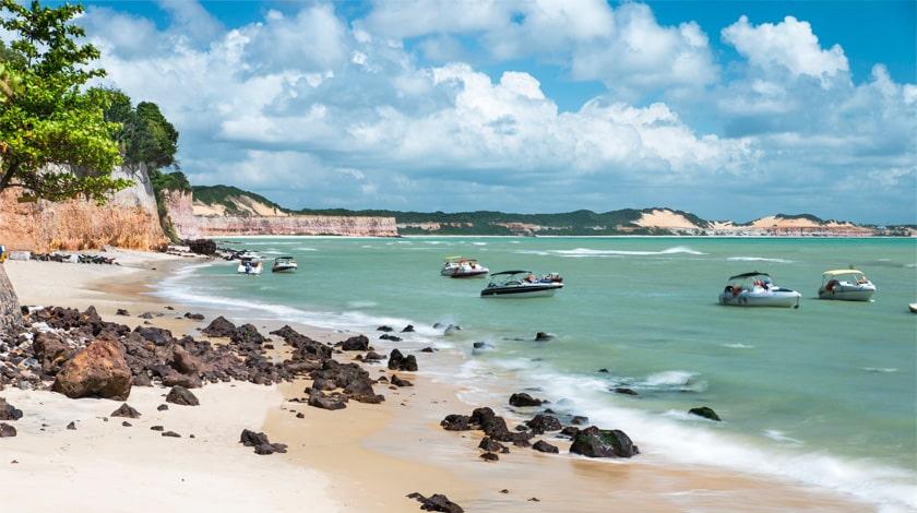 Praia de Pipa, a principal do destino