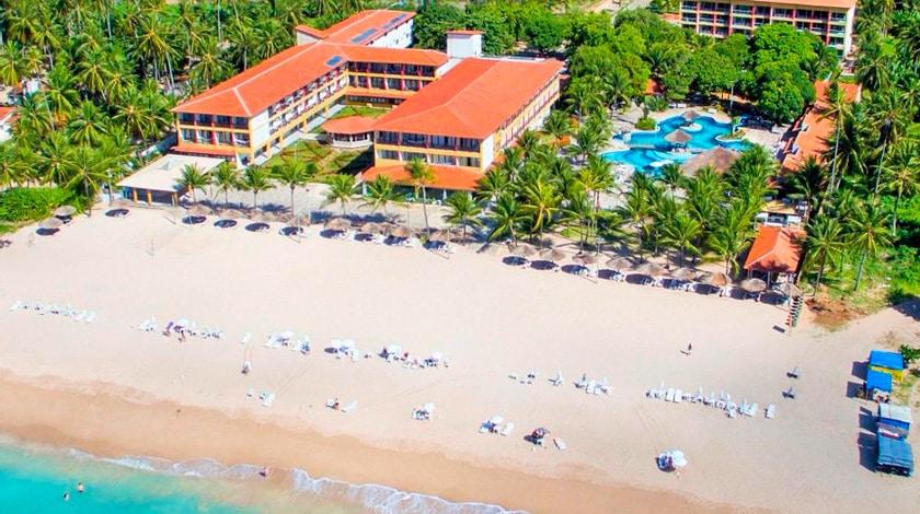 Vista geral do Hotel Praia Dourada Maragogi