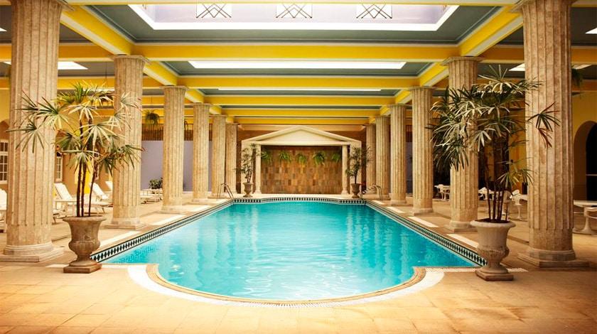 piscina do Palace Hotel Poços de Caldas